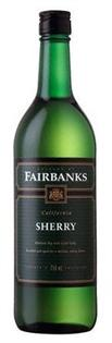 Fairbanks Sherry 750ml - Case of 12